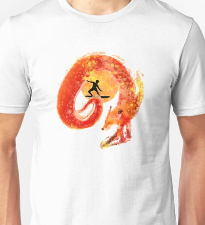 Fox Surfing Unisex T-Shirt