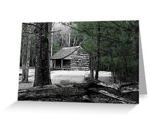 Carter Shields Cabin VIII Greeting Card