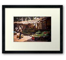 Lilongwe Market Framed Print