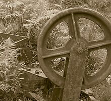 Old Wheel by Gordon Hewstone