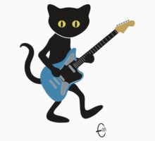 Guitar Cat by Bizarro Art