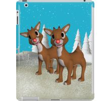 Red Nose Reindeer, tote, throw pillow, case iPad Case/Skin