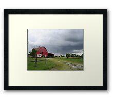 Storms Abrewin Framed Print