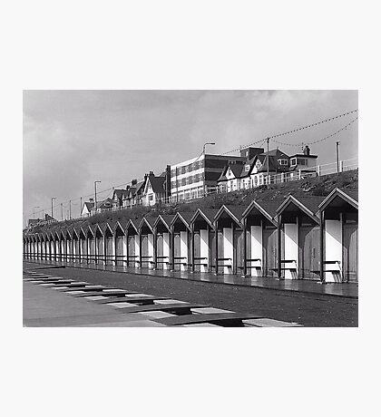 Beach huts bridlington Photographic Print