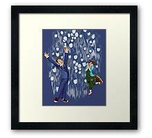 Shiny Doctor Framed Print