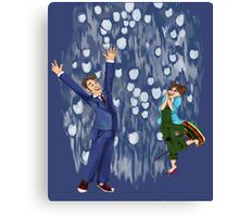 Shiny Doctor Canvas Print