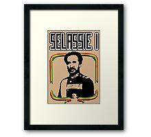 Selassie I Framed Print