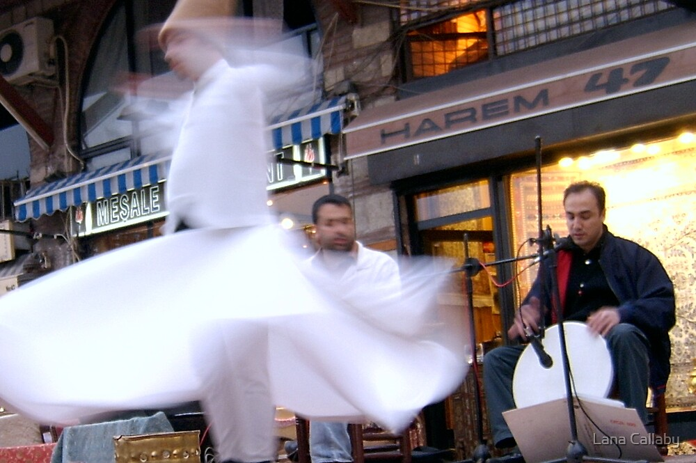 Whirling Dervish by Lana Callaby