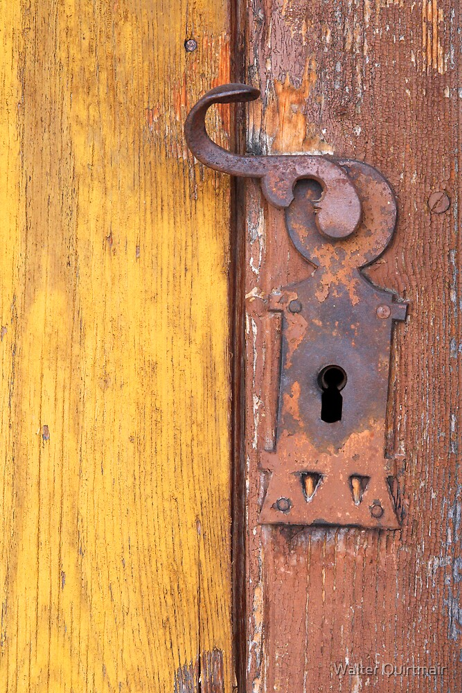 Ye Old Lock by Walter Quirtmair