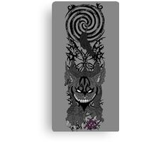 American McGee's cheshire cat Canvas Print