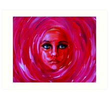 "A Person of a Painting...............""Rose 2""  Art Print"