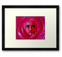 "A Person of a Painting...............""Rose 2""  Framed Print"
