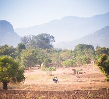 Namwera mountains by Tim Cowley