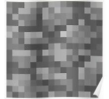 Minecraft Cobstones Block Poster