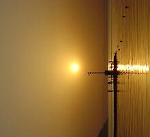 Simple sunset by Mark Garbett