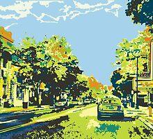 Washington Avenue - Cedarburg WI - Ci20C (bold) by katherinepaulin