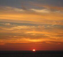 Sennen sunset by kazzie