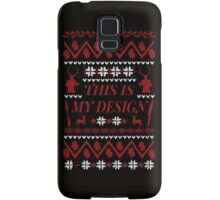 THIS IS MY DESIGN - Hannibal ugly christmas sweater  Samsung Galaxy Case/Skin