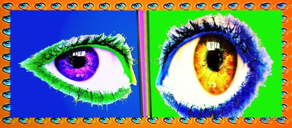 eyes as twins by eagle1effi