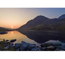 Tryfan at Dawn Photographic Print