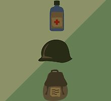 Army - Minimalist Design by nelson92