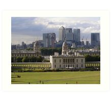 Old Meets New - Greenwich Art Print