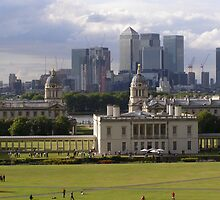 Old Meets New - Greenwich by Lisa Carse