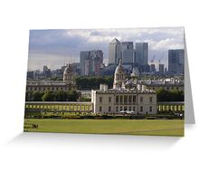 Old Meets New - Greenwich Greeting Card
