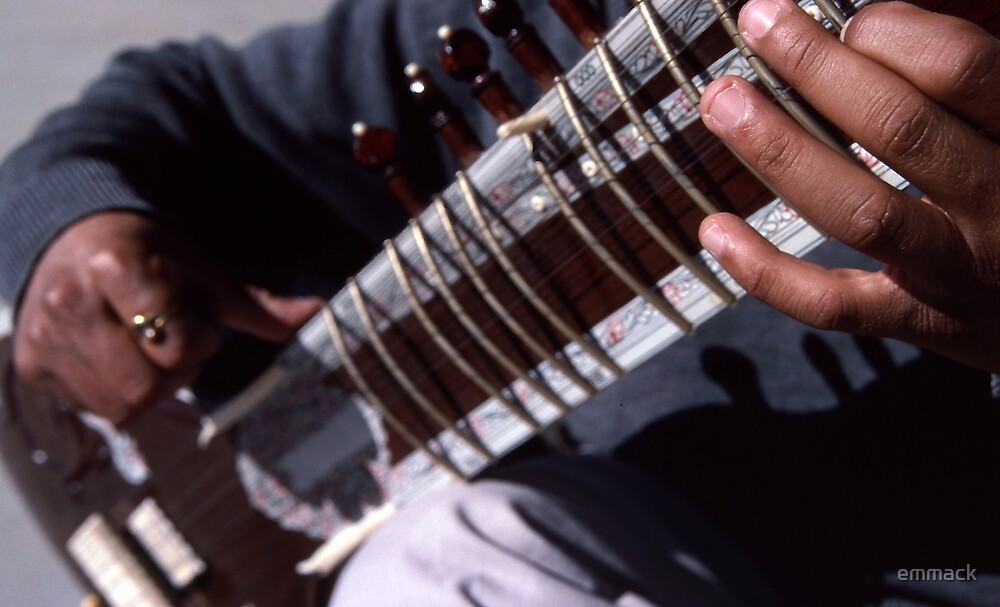 Sitar, McLeod Ganj, India by emmack