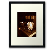 Grandpa's Corner Framed Print
