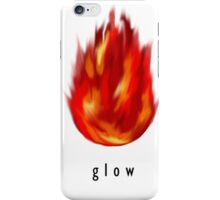 Glow - Minimalist Motivational Poster iPhone Case/Skin