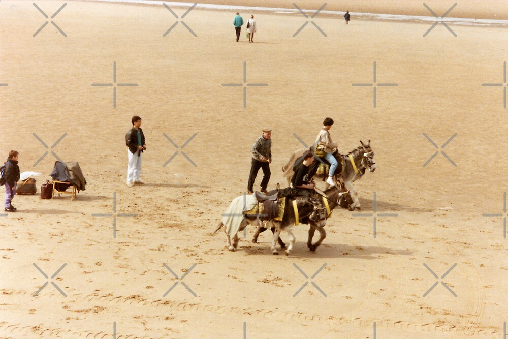 Blackpool's Donkeys by georgiegirl