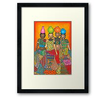 Water Carriers Framed Print