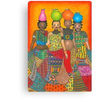 Water Carriers Canvas Print