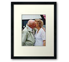 Love has no age Framed Print
