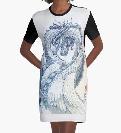 Love Dragons; Ancient Love Graphic T-Shirt Dress