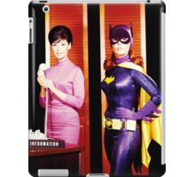 The 2 Faces of Barbara Gordon iPad Case/Skin