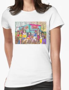 Foxy Roxy & Her Crew Womens Fitted T-Shirt