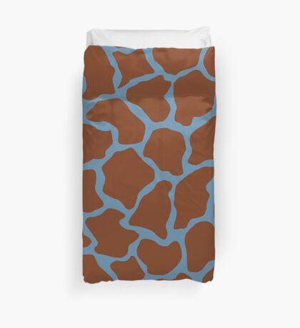 Air Force Blue (RAF) or Rackley in Giraffe Pattern  Duvet Cover