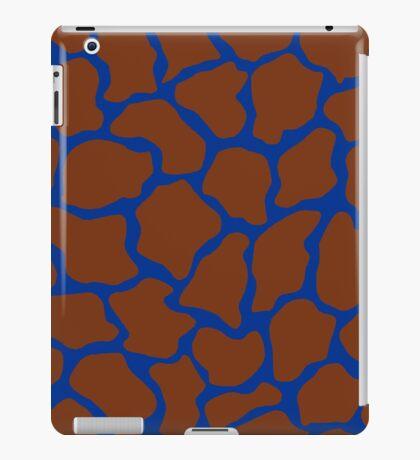 US Air Force USAF Blue in Giraffe Pattern  iPad Case/Skin