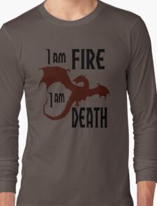 Fire & Death Long Sleeve T-Shirt