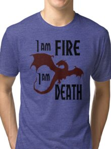 Fire & Death Tri-blend T-Shirt