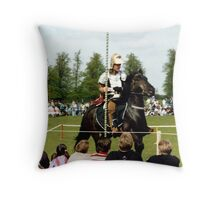 Knight in Shiny Armour Throw Pillow
