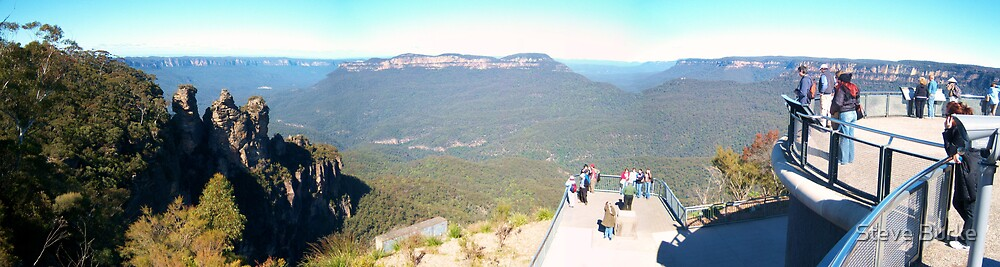 Blue Mountains Lookout by Steve Burke