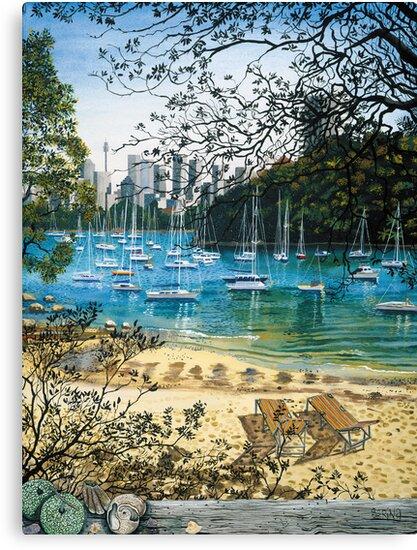 Sirius Cove - Sydney by Sarina Tomchin