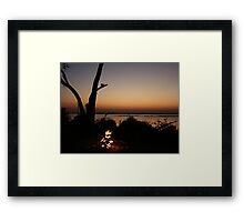 Raw Beauty Framed Print