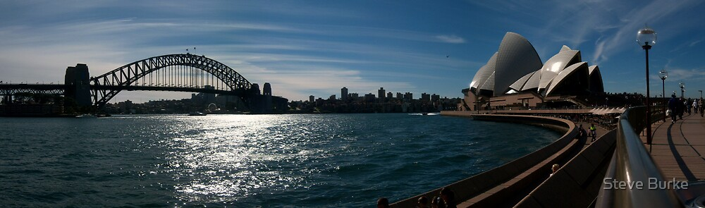 Sydney Harbour by Steve Burke