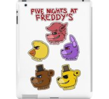 Five Nights at Freddy's Characters iPad Case/Skin