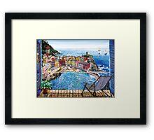 Vernazza - Italy Framed Print