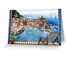 Vernazza - Italy Greeting Card